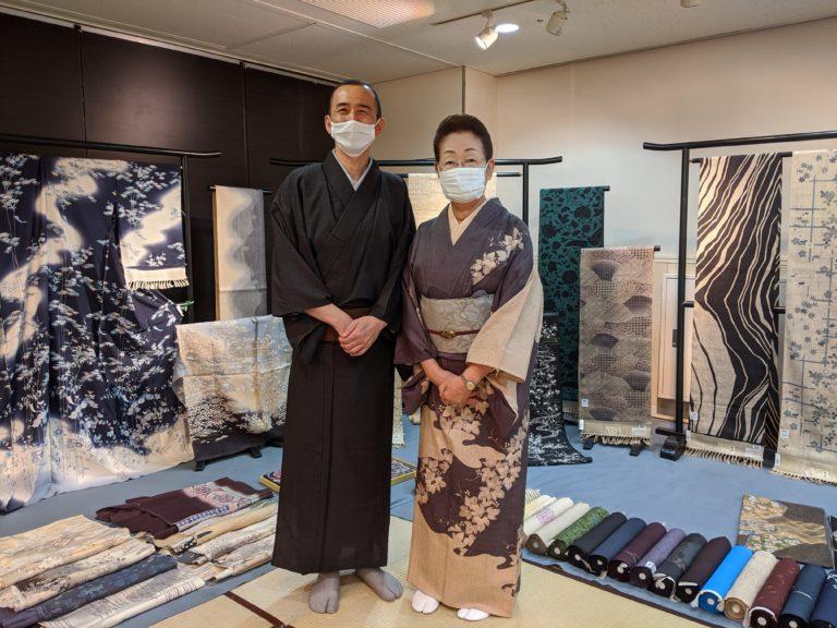 京都からいらした尾寄先生